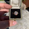 1.97ctw Antique Cluster Ring, GIA G SI2 49