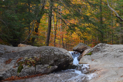 The Basin - Franconia Notch NH Oct 13