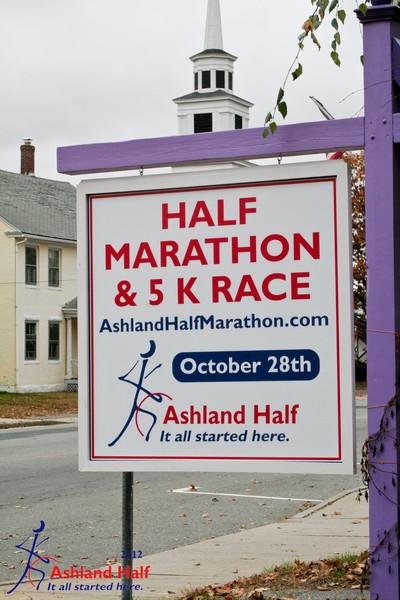 Ashland Half Marathon 2012 - On Course
