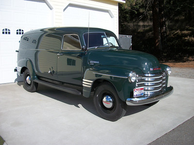 1949 Chevy 1-Ton Panel - SOLD