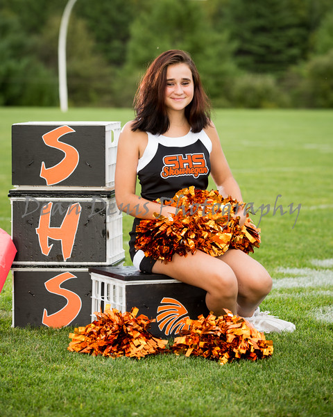 2016 Fall Skowhegan Cheerleaders