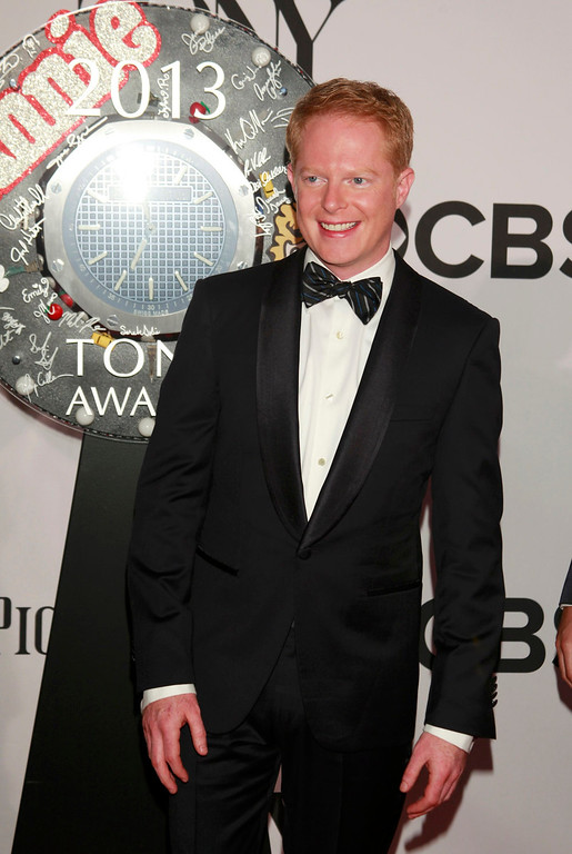 . Actor Jesse Tyler Ferguson arrives to the American Theatre Wing\'s annual Tony Awards in New York June 9, 2013. REUTERS/Carlo Allegri