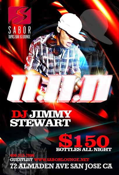 11.11.11 @ Sabor Tapas Bar & Lounge 11.11.11