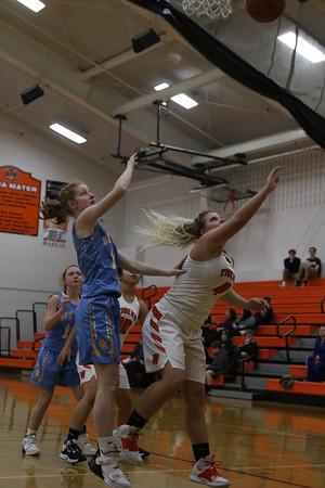 Wellsville vs Oak Glen Girls Basketball 2-13-20
