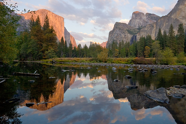 Yosemite Valley Features and Classic Views