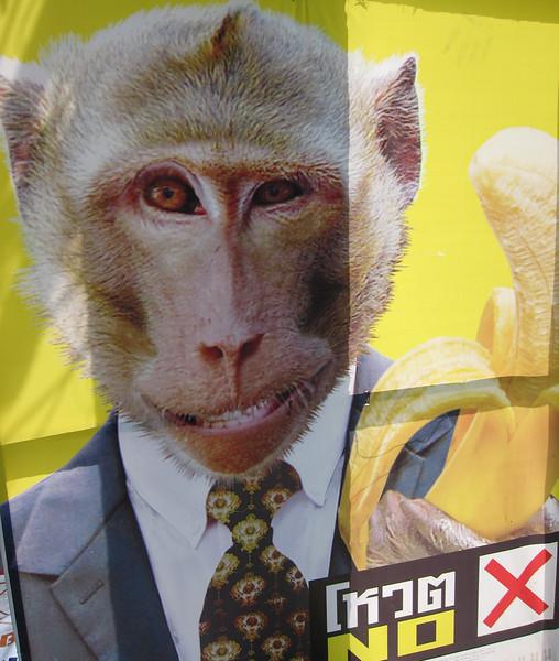 political campaign poster