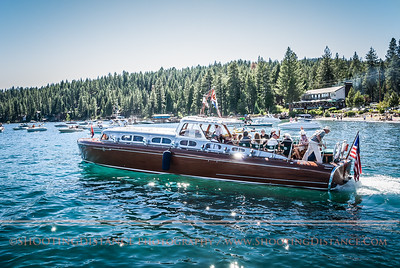 Aboard the Thunderbird at the Concours d'Elegance, 2011, Tahoe
