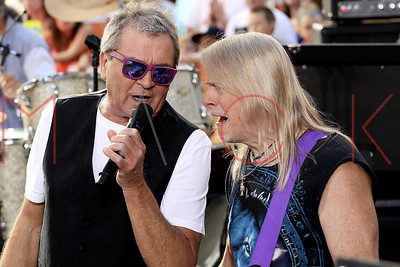 """New York, NY - July 23:  Deep Purple perform at the NBC """"Today"""" Concert Series, New York, USA."""