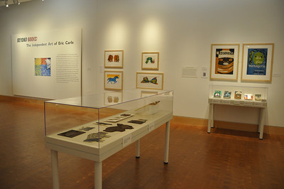 2012 Beyond Books: The Independent Art of Eric Carle - Installation