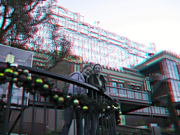 Alcatraz - in 3D (red/cyan glasses required)