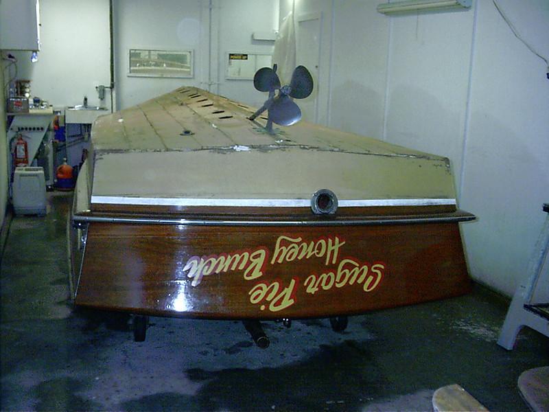 boat upside down