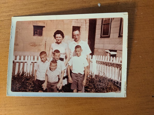 Erika Brayfield and four sons