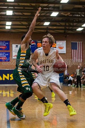 Mt Tabor Spartans vs West Forsyth Titans Mens Varsity Basketball 2/20/2014