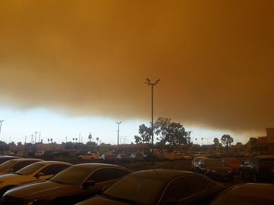 Anaheim Hills Fire - 10/9/2017
