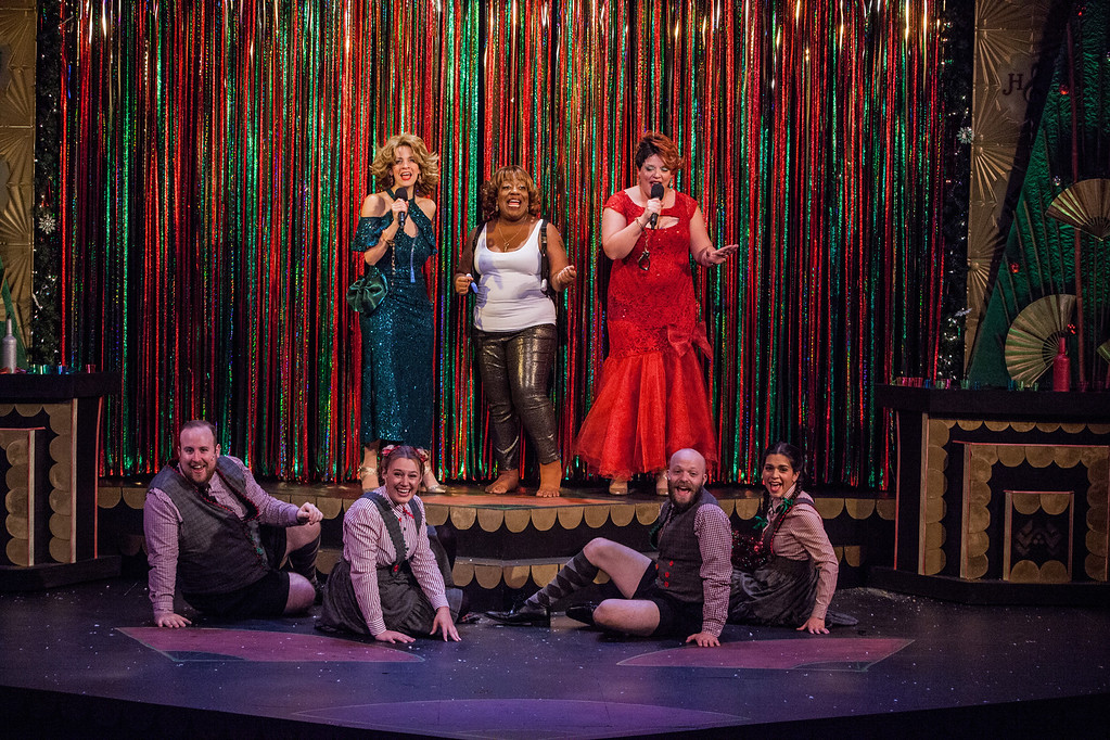 . Catch what Cleveland Public Theatre is calling �bawdy, boozy, over-the-top holiday cabaret,� The Loush Sisters Get HARD for the Holidays (Yippie-Kai-Ya Mother-Loushers),� through Dec. 23 at the theater, 6415 Detroit Ave. For information, call 216-631-2727 or visit www.cptonline.org.� (Submitted)