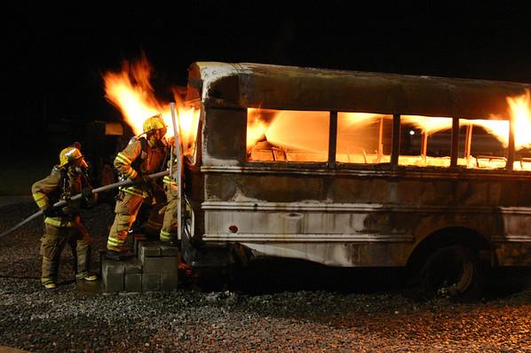 Bus Burn 9-30-09
