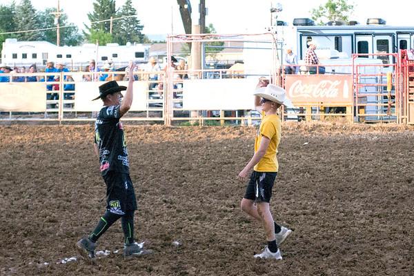 Kids' Night at Sheridan WYO Rodeo (7-10-19)