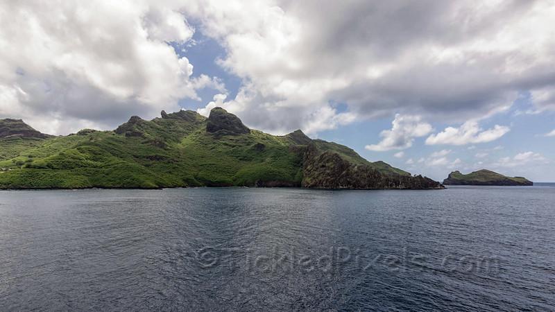 Shoreline of Nuku Hiva