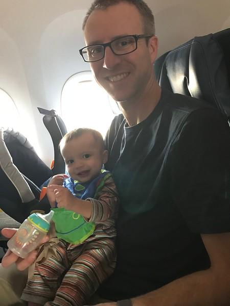 Shane & Asher flying