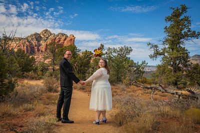 Stacy and Stephen's Sedona Wedding
