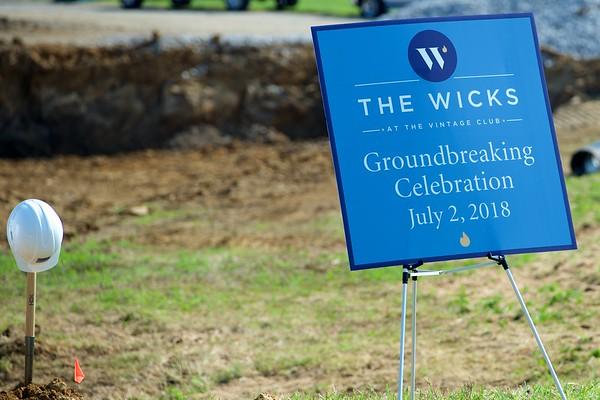 Wicks Groundbreaking Ceremony