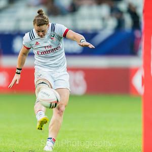 USA - HSBC 7s Paris 2018 - Men and Women games