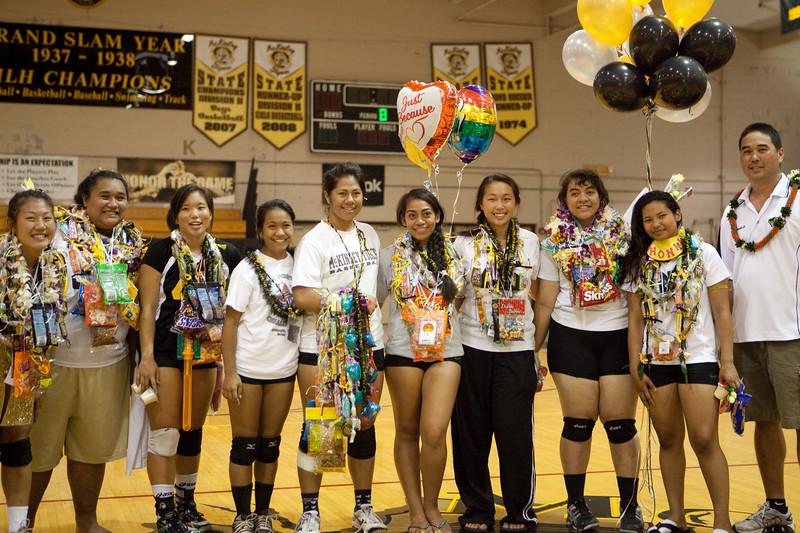 2010 Girls Varsity Volleyball