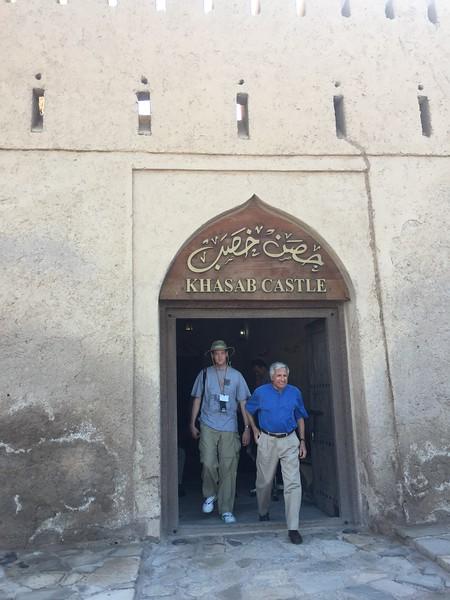 Khasab Castle in Oman - Bridget St. Clair