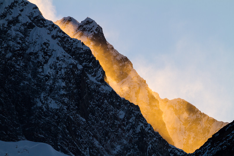 Orange Spindrift, Nepal