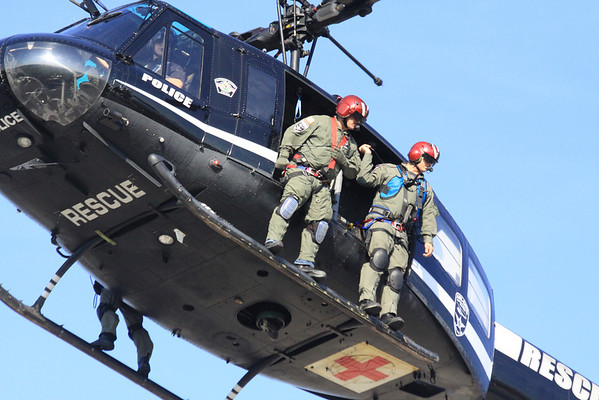 Illinois Mabas USAR TF1 And Homeland Security Drill