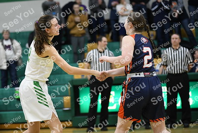 Manson NW Webster @ St. Edmond Girls basketball