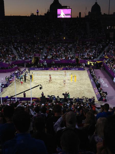 Day 12 Beach Volley Ball - USA/USA - Horse Guards Parade