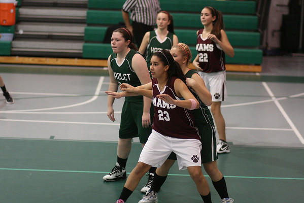 Girls Basketball vs Hazlet 01052012