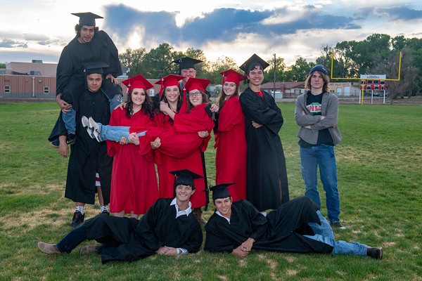 Hoehne Covid Graduation 2020