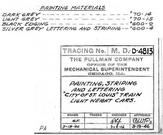 Pullman PL&N Drawings
