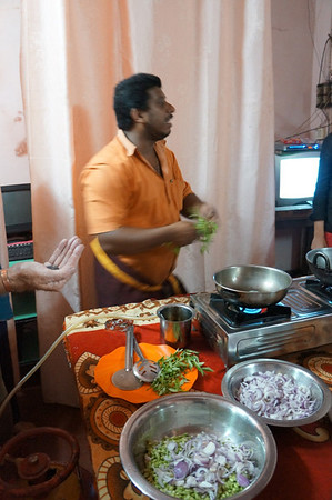 South Indian cooking class