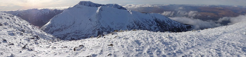 Ben Nevis from the East