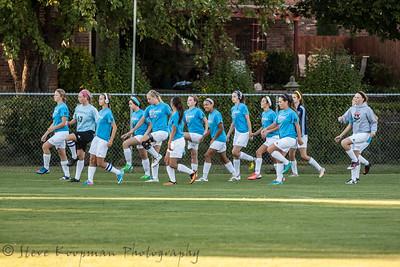 2013 PHS Girls Soccer vs Manual