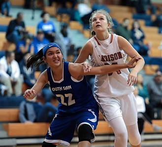 JV Girls Basketball vs South San