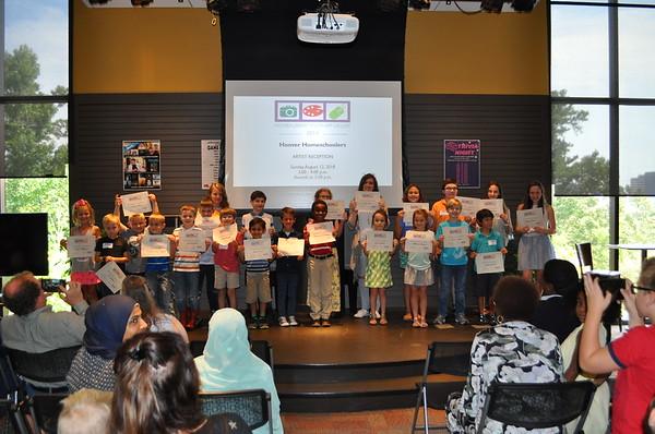 Homeschool Art Reception - August 2018