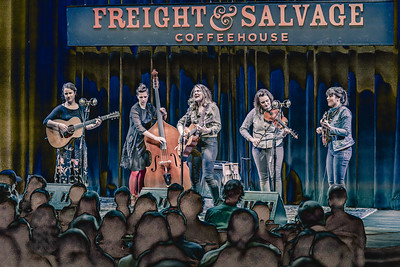 Freight and Salvage March 23,2018 with Phoebe Hunt, North Country Blue (on the Gallery Stage)