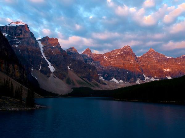 Moriane Lake, Banff National Park