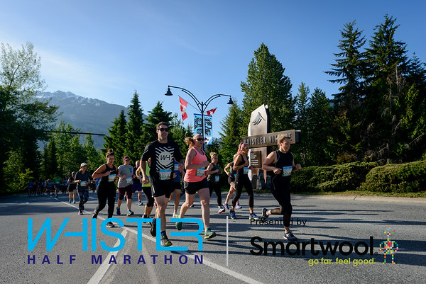 2019 Whistler Half Marathon Course Photos