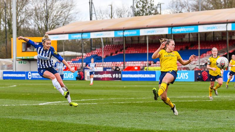 Brighton and Hove Albion Women v Arsenal FC Women
