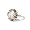 3.45ctw Antique Rose Cut Cluster Ring 1