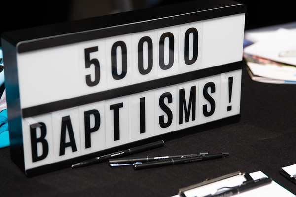 Jul. 12, 2018 - 50,000 Baptisms