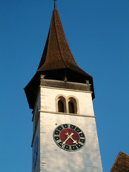 Interlaken church steeple