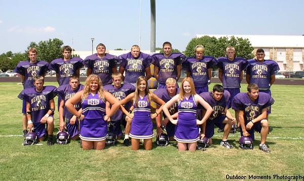 Sr. Wolves & Sr. Cheerleaders 2005 2006
