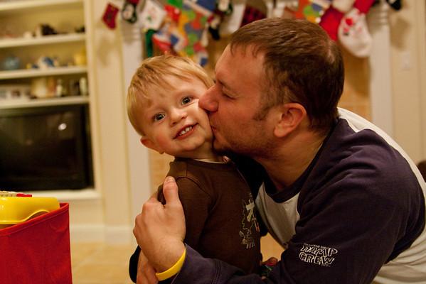 Firetruck for Christmas - December 28, 2008
