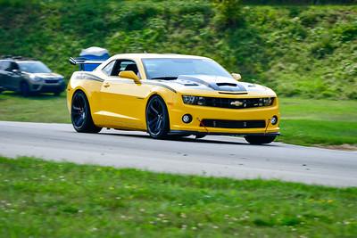 2021 SCCA TNiA  Aug 27 Pitt Adv Yellow Camaro Wing